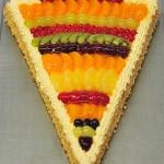 Torte Zuckertuete für den Schulanfang